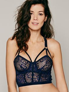 Lonely Sabel Longline Bra at Free People Clothing Boutique