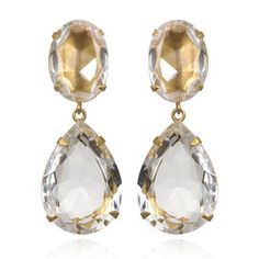 White topaz- color combination and shape