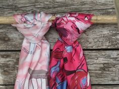 beautiful scarves - #breastcancer  #silverlining
