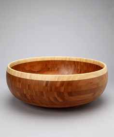 Gorgeous wooden bowl