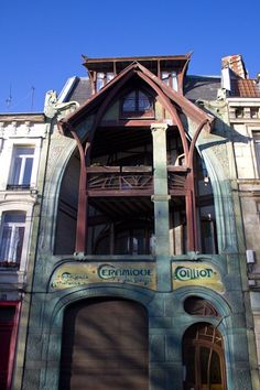 Maison Coilliot in Lille, France by Hector Guimard