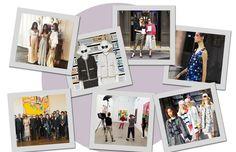 A terça-feira do time da Vogue em Paris (Foto: Arte Vogue Online)