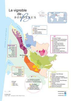 Vins de Bordeaux   Appellations et carte du vignoble Bordeaux Vineyards