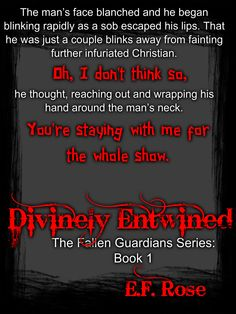 Divinely Entwined  http://www.amazon.com/Divinely-Entwined-Fallen-Guardians-Book-ebook/dp/B014E1XYAS/ref=asap_bc?ie=UTF8