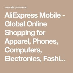 AliExpress Mobile - Global Online Shopping for Apparel, Phones, Computers, Electronics, Fashion and more Grote Fujifilm Instax Mini, Monokini, Sexy Bikini, Corset, Vestidos Sexy, Kawaii, Baby Kind, Aliexpress, Mosaic Glass