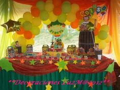 Chavo del Ocho Party ~ Decorations ~ Desert Table Setup