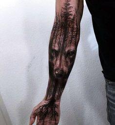 Wolf Tattoo Designs For Men3