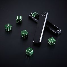 High Roller Set // Forest Green (Dice Only)