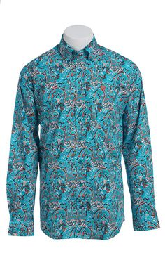 Cinch L/S Men's Fine Weave Shirt 1103879