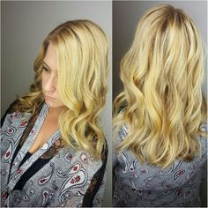 Blonde with rootshadow!