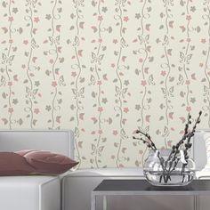 Papel de Parede Autocolante Borboleta Floral 208397080 »