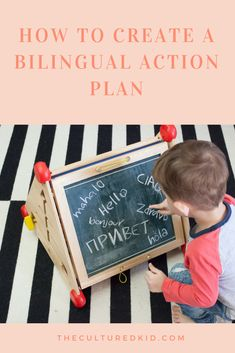 How to Create a Bilingual Action Plan