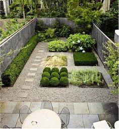 Backyard Designed by Susan Welti of Foras Studio I Gardenista
