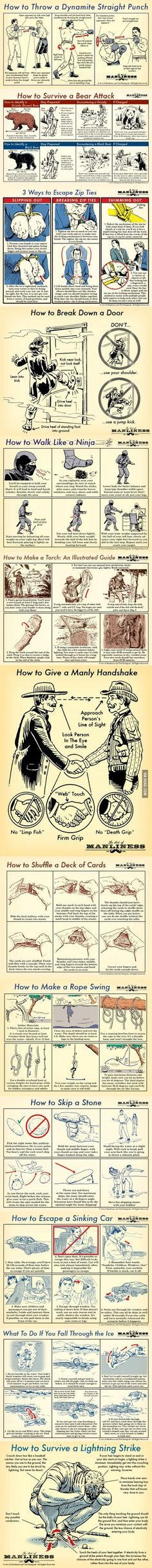 Manly Skills for men | DailyFailCentral