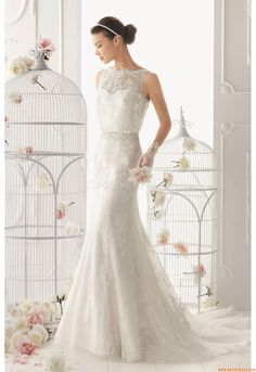 Wedding Dresses Aire Barcelona 122 Odette 2014