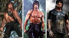 If you saw Rambo I and II, you would have noticed how Stallone's physique changed between the two movies. Here's the training and supplementation program that Stallone used as he prepared for Rambo IV! Rambo 4, Two Movies, Action Movies, Silvestre Stallone, Expendables Movie, Expendables Tattoo, Stallone Rocky, Keanu Reeves John Wick, Military Action Figures