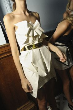 your little origami dress