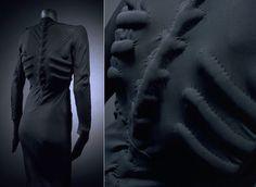 Schiaparelli's Skeleton dress