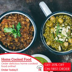 Order Delicious #homecookedfood online - @homekitchen1  Get 20% Off on First Order.  Order now, visit at, www.home-kitchen.co.in or call us at 96382 62600