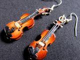 Violins Earrings