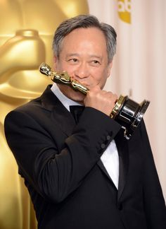 Ang Lee  Life of Pi  Oscar Press Room Pictures 2013