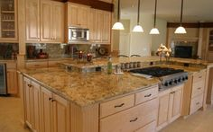 There are a myriad of materials you can use for designing your kitchen countertops, but one of the leading selections to date is granite. For decades, granite has been a top choice for residential kitchens. It looks stunning and provides an assortment of colors and cuts to choose from. Those who are looking to upgrade their kitchens this spring or summer should consider doing so with granite. This is a natural stone that can be used for different