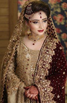 Latest bridal jewellery design Latest bridal jewellery design Jewellery design is the art or profession of designing and creating je. Pakistani Bridal Jewelry, Bridal Mehndi Dresses, Indian Bridal Outfits, Pakistani Wedding Outfits, Bridal Dress Design, Pakistani Wedding Dresses, Bridal Jewellery, Wedding Hijab Styles, Pakistani Makeup