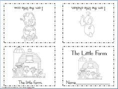 Maggie's Kinder Corner: New FREEBIE! Foldable Sight Word Reader: The Little Farm