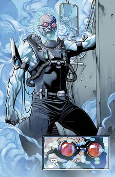 Mr. Freeze - Batman Annual, out today!