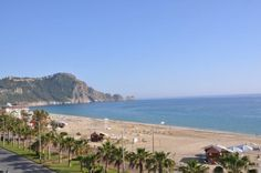 Apartments with views of the Mediterranean Sea for sale in Alanya, Antalya, Turkey.