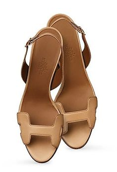 Cute Sandals, Shoes Sandals, Heels, Hermes Shoes, Fendi, Lit Shoes, Designer Sandals, Slingback Sandal, Shoe Game