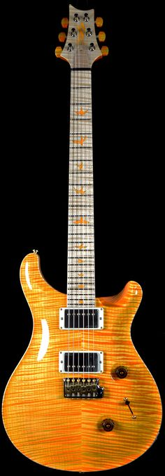 PRS Private Stock finish - APRICOT! Holy fucking shit I am in love with this. It'd so stunning it hurts.