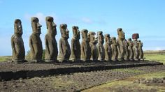 "Easter Island, Chile: The statues known as ""moai"" are some of the most incredible ancient relics ever discovered."