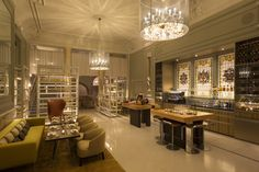 Andaz Hotel, Catch Champagne Bar & Lounge, Lighting by Elektra Lighting®