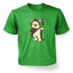 Kid's Cute Ewok T-Shirt - Inspired by Star Wars