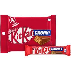 Kit Kat Nestl Kitkat Chunky Milk Chocolate Candy Brands, British Candy, Galaxy Chocolate, No Sugar Foods, Candy Shop, Bullet Journal Inspiration, Food Cravings, How To Know, Walmart
