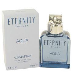 Eternity Aqua Cologne By CALVIN KLEIN FOR MEN 3.4oz. EDT Spray
