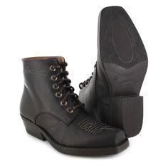 Fashion Boots BU1010 Dark Brown Westernstiefelette - dunkelbraun Dance Boots, Rind, Fashion Boots, Dark Brown, Combat Boots, Sneakers, Shoes, Darkness, Get Tan