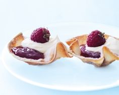 donna hay jam tarts with wonton wrapper pastry cases