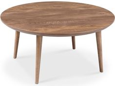 Victory Round Coffee Table WALNUT