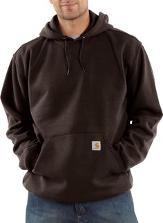 Domple Men Pleated Hole Classic Drawstring Pockets Hoodie Pullover Sweatshirt