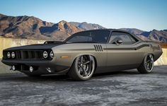 Visit The MACHINE Shop Café... ❤ Best of Street @ MACHINE ❤ (Plymouth Barra'Cuda' Pro Tourer)