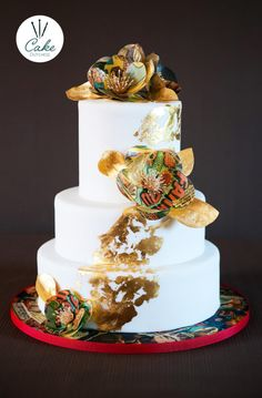 Comic Book style Wedding Cake - Cake by Etty