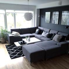 Beste følelse Glam Living Room, Living Room Goals, Living Room Decor Cozy, Elegant Living Room, Interior Design Living Room, Living Room Designs, Living Room Inspiration, House Rooms, Home Decor