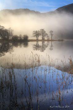 Chon Mist - <a Loch Chon, Trossachs