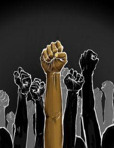 Black Lives Matter means solidarity, not division - El Tecolote Black Love Art, Black Girl Art, Black Is Beautiful, Black Girl Magic, Black Power, Arte Black, Afrique Art, Protest Art, Creation Art