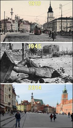 Then and Now: Poland's Tragic WWII History - This World Rocks
