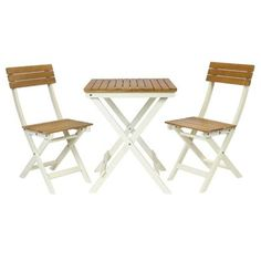 Bentley Garden National Trust 2 Seater FSC® Certified Wooden Garden Bistro  Set   Cream