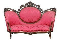 c1850 Rococo sofa, chairs, lmntd rswd, 44t, 16-1. http://www.ebay.com/usr/circa19century?_trksid=p2047675.l2559