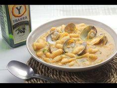 Fabes con Almejas. Un #guiso tradicional y lleno de sabor. #cuchareo